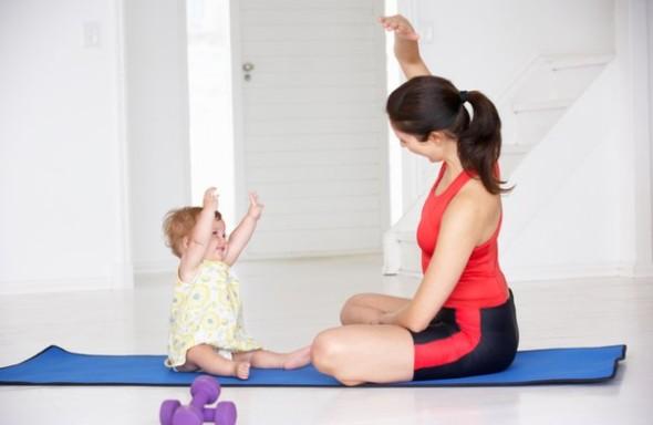 Йога как прекрасное средство для восстановления после родов