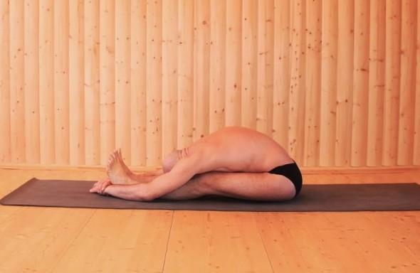 Пашимоттанасана, или Поза растяжения задней поверхности тела
